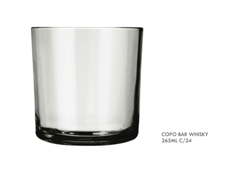 Copo Bar Whisky 265ML - 487 (F)